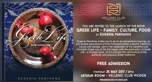 Greek Life in Canberra with Eugenia Pantahos