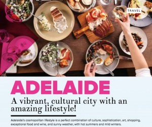 Adelaide - A vibrant cultural city with an amazing lifestlye! By Eugenia Pantahos